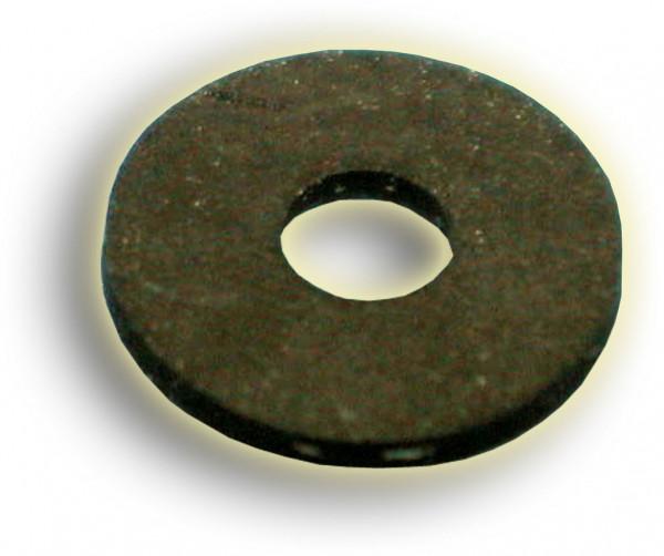 Scheibe 6,5x20x2 Gummi schwarz