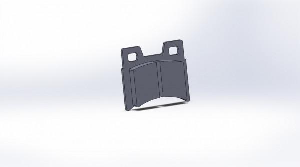 Bremsbelag vo. VHX EvoX /14 STD (Sz=4Stk)