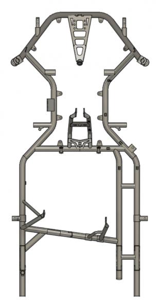 Rahmen FIA5 S A06 (MJ 2020), 1010 Radstand