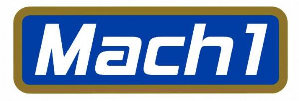 Aufkleber MACH1 157x47