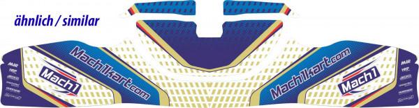 Klebesatz Mach1 BURU, Frontverkleidung