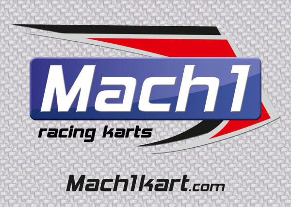 Aufkleber MACH1 7,4x10cm