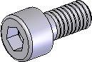 Schraube ISK M4x10 vz