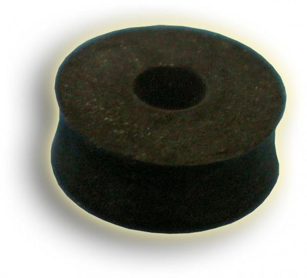 Scheibe 6,5x22x8 Gummi