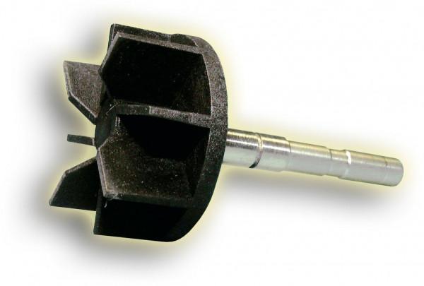 Pumpenwelle mit Flügelrad