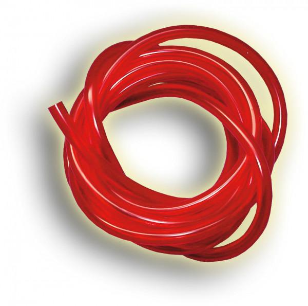 Benzinschlauch rot, 2m-Stk.
