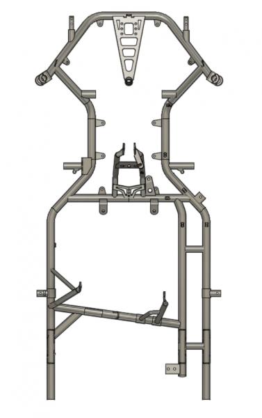 Rahmen FIA5 Z A06 (MJ 2020)